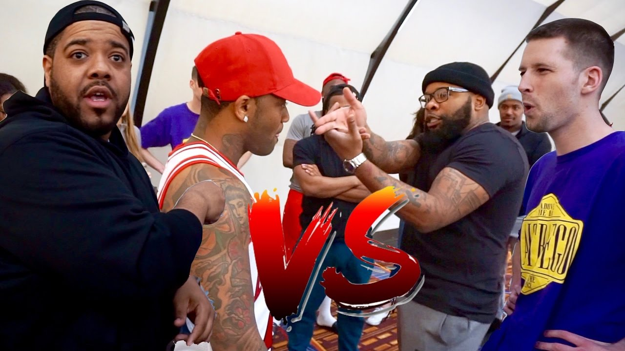 Wild N Out Cast Freestyle Battles - DC Young Fly Vs ...