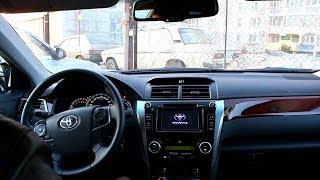 2013 Тойота Камри XV50 Тест-Драйв. Видеообращение.