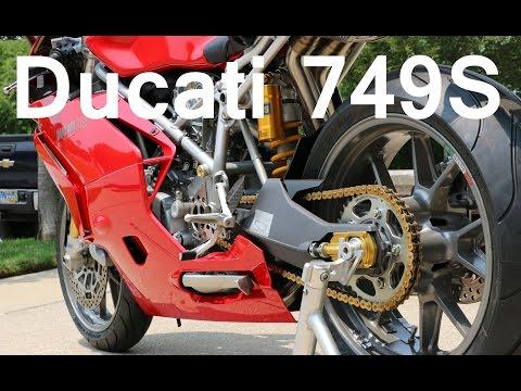 Michael's BEAUTIFUL Ducati 749S | Walkaround