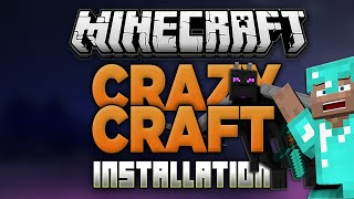 How to Install Crazy Craft 3.0 in Minecraft! (Modpack Installation)