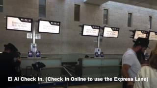El Al Airlines Flight Review From Tel Aviv to New York