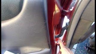 comment réparer la panne de vitre et fermeture centralisée ( tout véhicule)