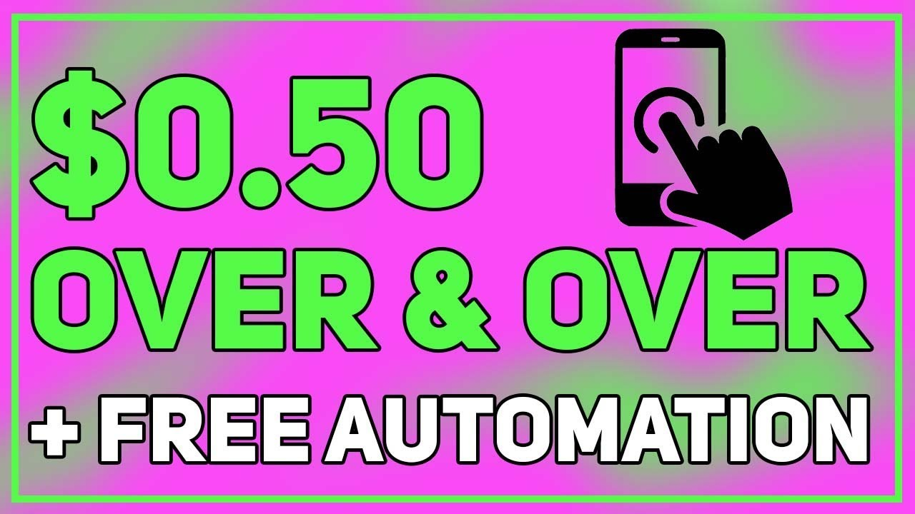 $0.50 Over and Over Unlimited Times (Make Money Online)
