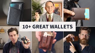 10 Best Men's Wallets for 2019 // Fossil, Anson Calder, KORE, Campbell Cole and MORE