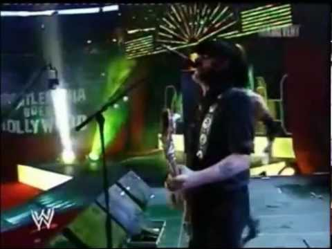 triple h with motorhead wrestlemania 21