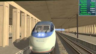 Trainz 12: AMTRAK Acela Express (Northeast Corridor)