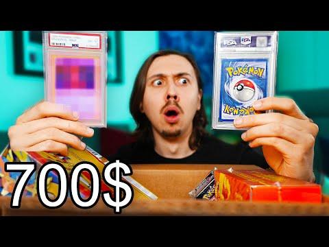 J'ouvre une Mystery Box Pokémon à 700$