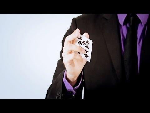 How To Do A Boomerang Toss | Magic Card Flourishes
