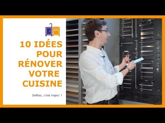 10 raisons de rénover votre cuisine équipée - Electro et Cuisine DEFITEC