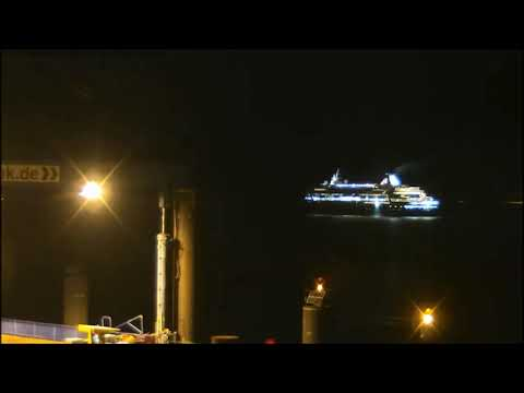 Balmoral v Warnemünde nach Southampton