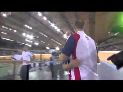 Jess Varnish + Victoria Pendleton Team Sprint World Record - London World Cup 2012