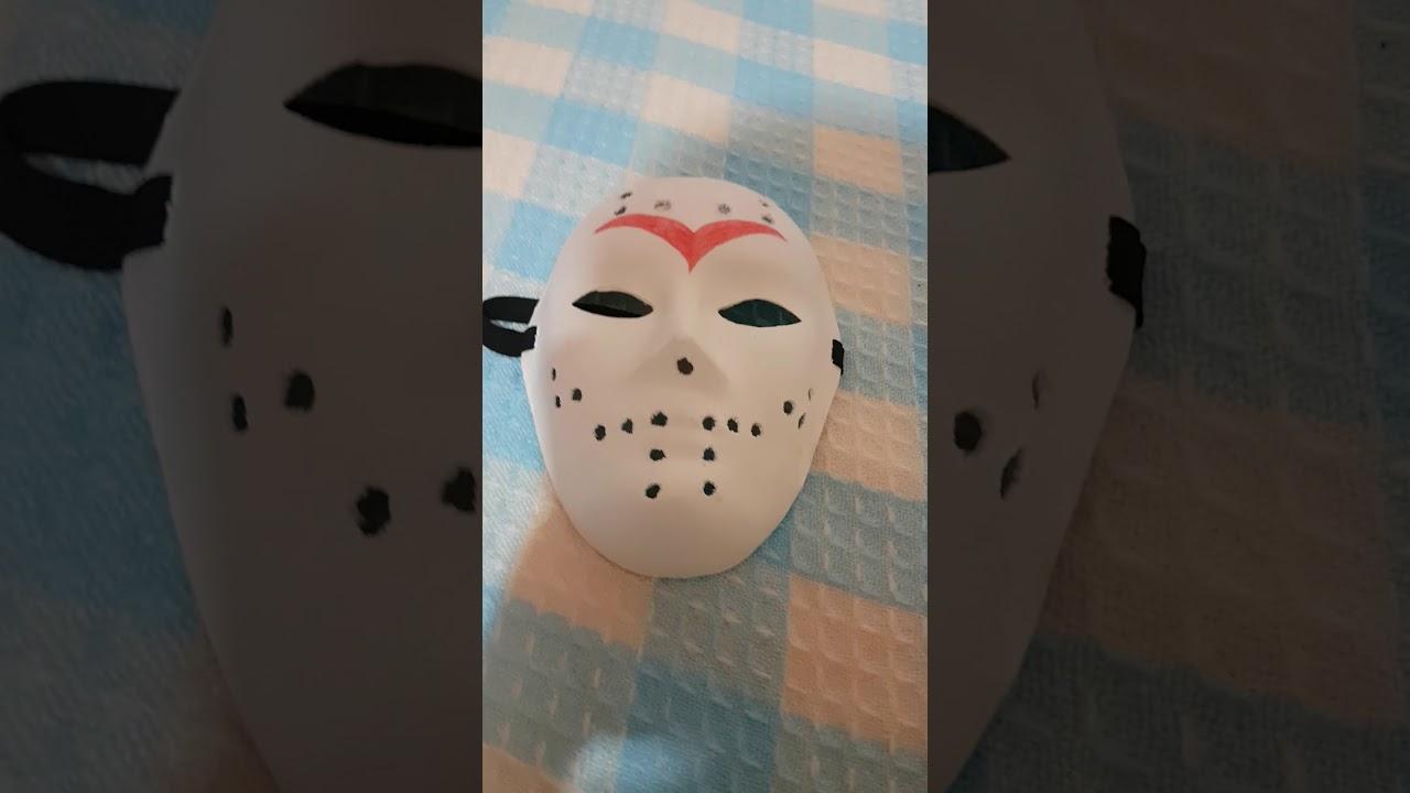 Jason Maske Yapımı çok Kolay Youtube