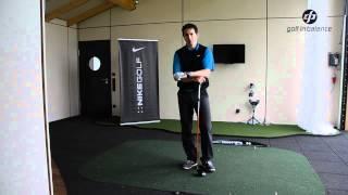Golf in Blance lange Drives durch Schnellkraft Training