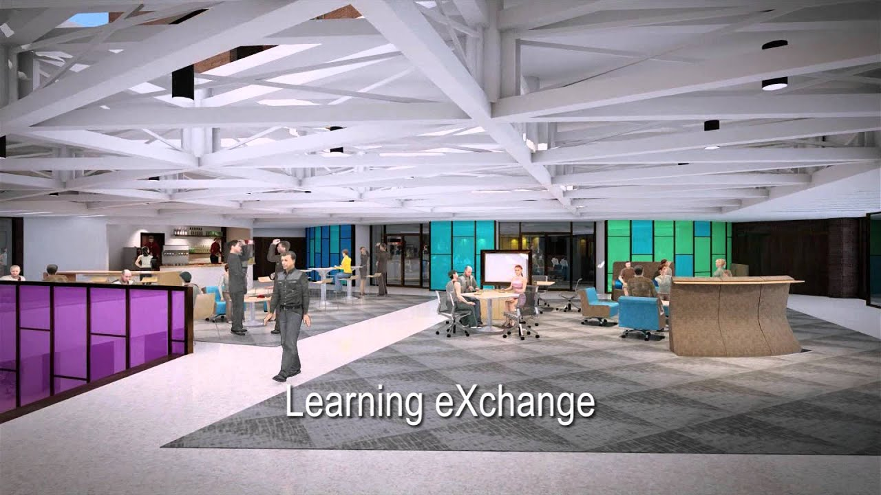 Uni schindler education center renovation youtube - Interior design requirements of education ...