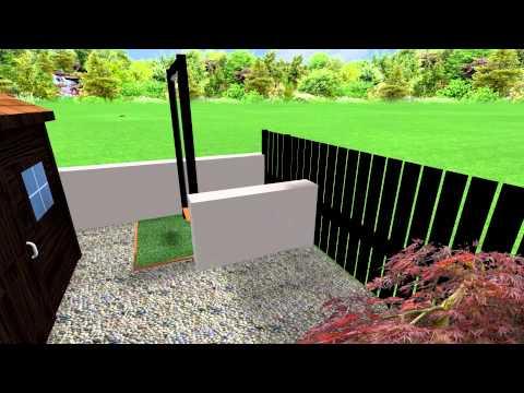The Organic City garden design
