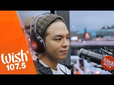 "Sam Mangubat sings ""Pagka't Nariyan Ka"" LIVE on Wish 107.5 Bus"