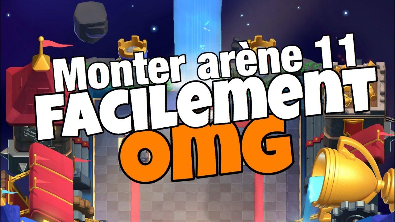 Clash royale le meilleur deck pour monter arene 11 youtube for Meilleur deck arene 4