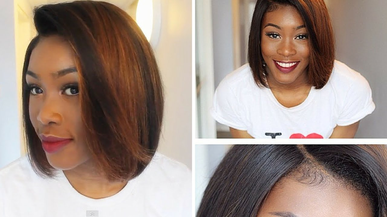 How To Lay A Bob Wig From Rpgshow Revamp Of Kenya Moore Inspired