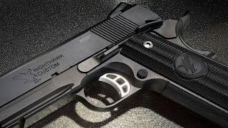 Most Realistic Replica Ever – RWA Nighthawk Custom GRP Steel GBB Pistol- RedWolf Airsoft RWTV