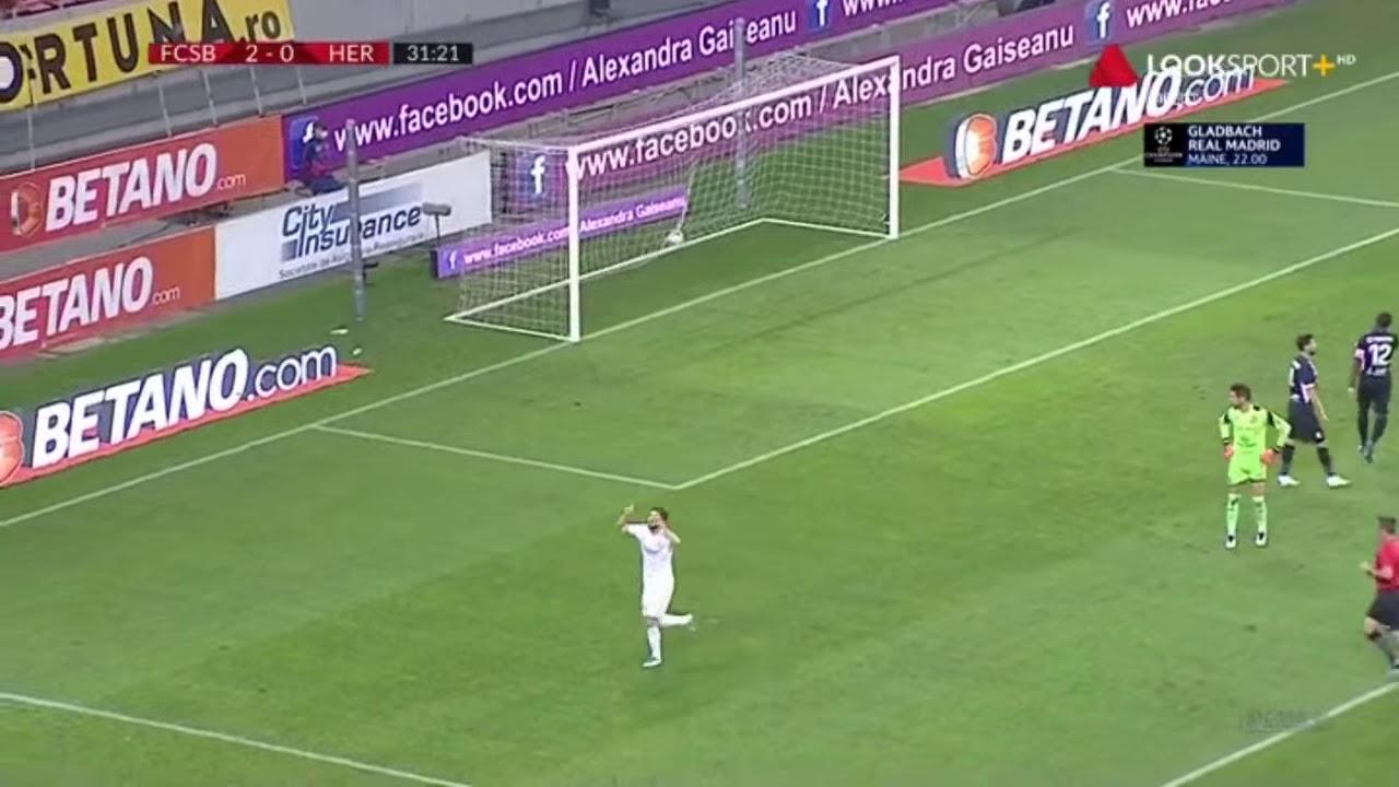 FCSB - Hermannstadt 3-0, gol marcat de Sergiu Bus | Liga 1, etapa 8, sezon 2020-2021