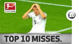 Top 10 Misses - 2013/14 Season