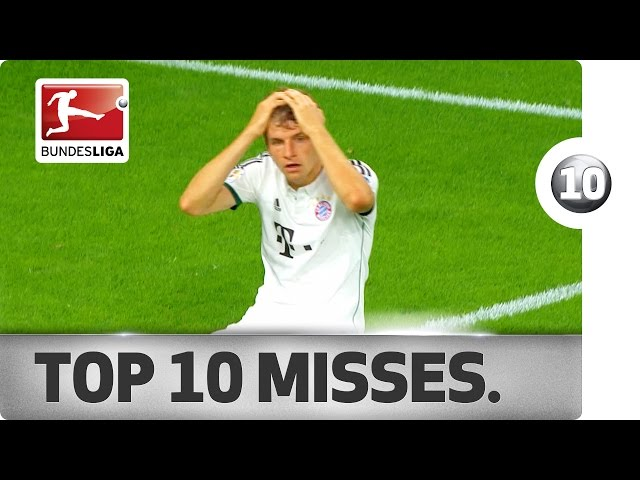 Top 10 Misses – 2013/14 Season
