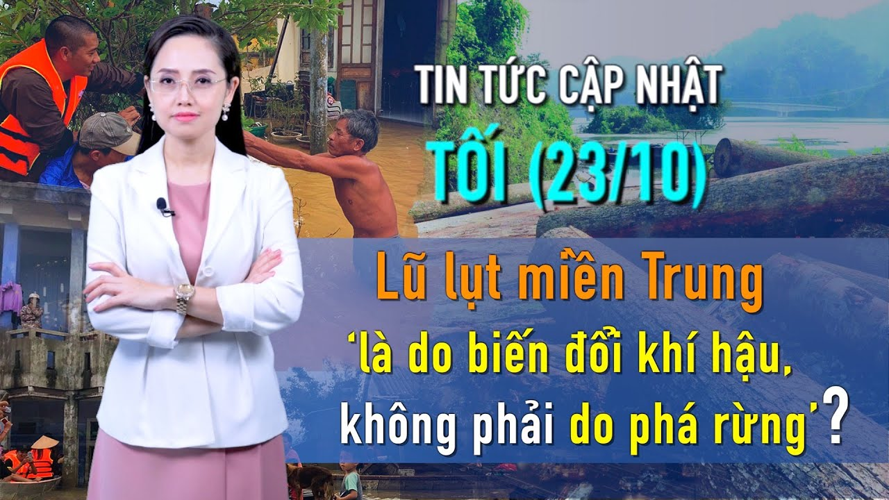 TIN NÓNG (TỐI 23/10): VTV bị dư luận yêu cầu xin lỗi ngư dân Quảng Bình