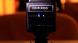 Cdr King TT520 Flash Recycle Test 1/1 power on optical slave, Godox rebrand
