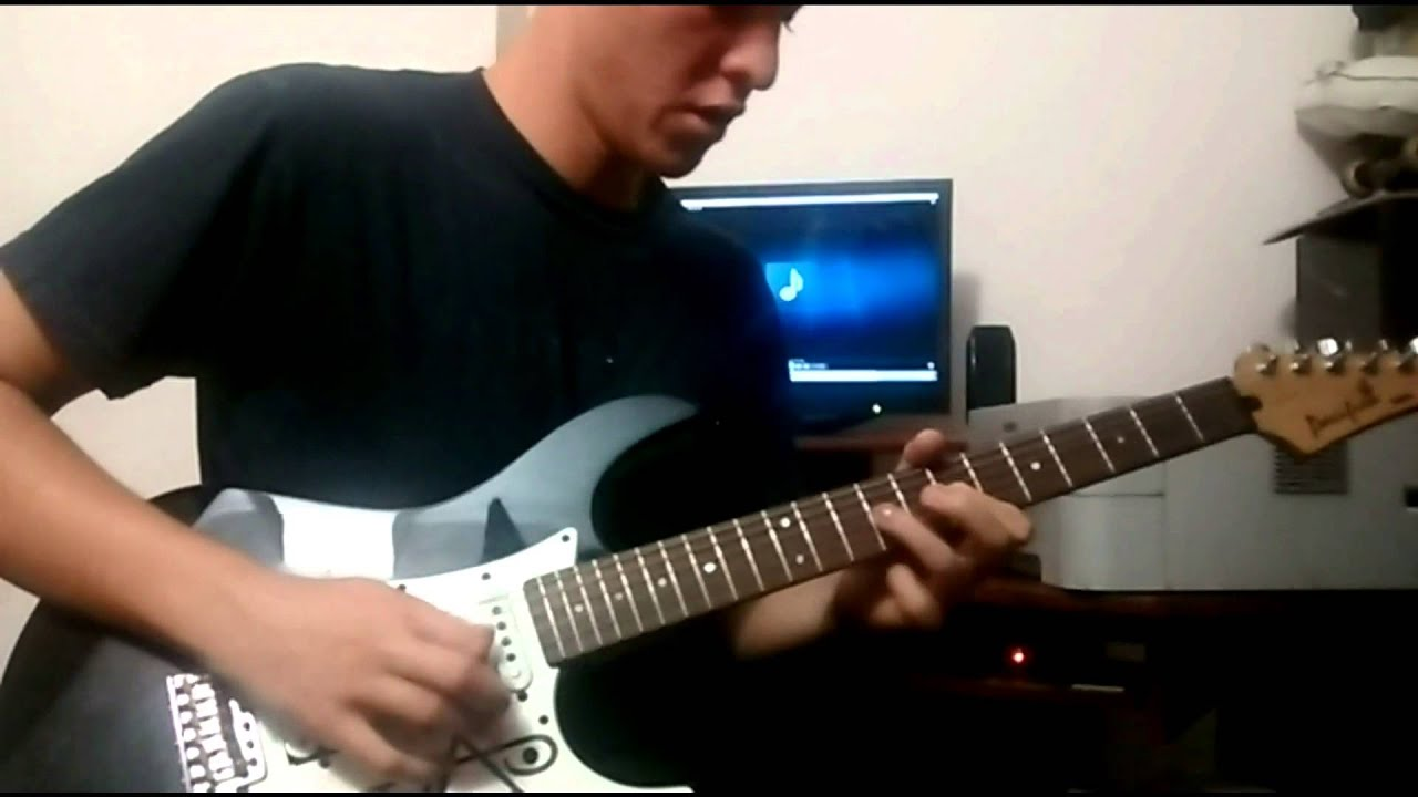 how to play comfortably numb solo