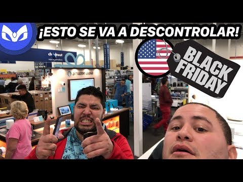 BLACK FRIDAY EN EEUU EN VIVO - ESTO ES DE LOCOS !