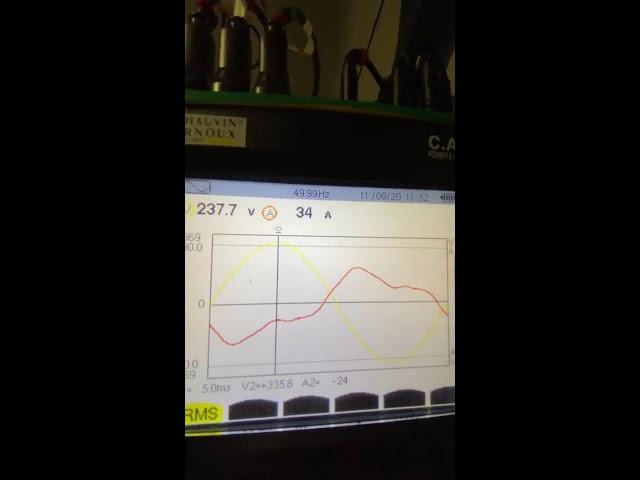 Schieflast / Strom auf dem Neutralleiter (früher Nullleiter) (Generatoren, BHKW's, Biogasanlage)