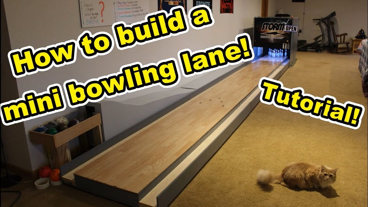 How to Build a Mini Bowling Lane