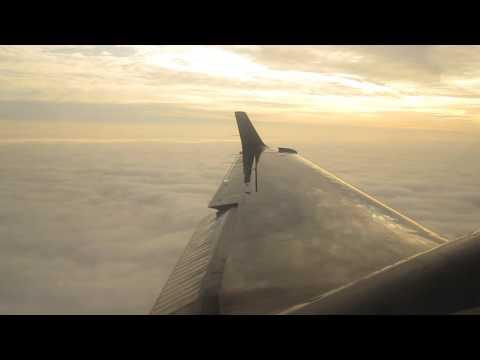 Landing to Metz-Nancy-Lorraine Airport Beechcraft 1900D TWIN JET