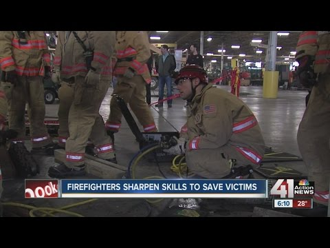 KC Firefighters Train For Manufacturing Accident