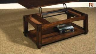 Tacoma Rectangular Lift Top Cocktail Table 049-910 By Hammary Furniture