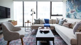 Interior Design: Living Room Makeover For A Bachelor