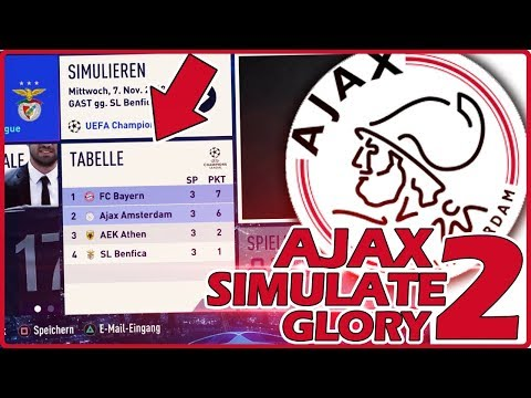 AUF IN DIE CHAMPIONS LEAGUE KO-PHASE !? 😱🔥 | FIFA 19 AJAX AMSTERDAM Simulate to Glory #4