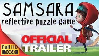 Samsara - reflective puzzle game teaser trailer - PC Mac XO