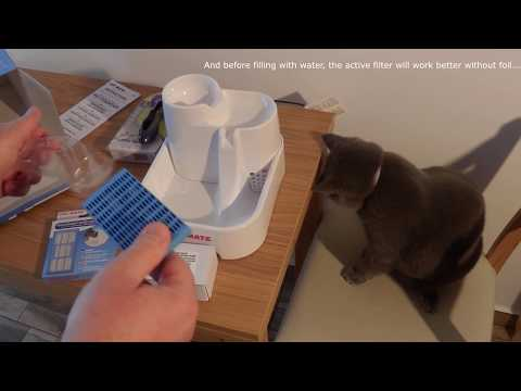 CatMate fountain and FURminator unboxing, test and review