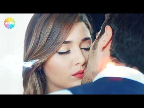hande ercel and buruk deniz romantic kiss...😘😍😍