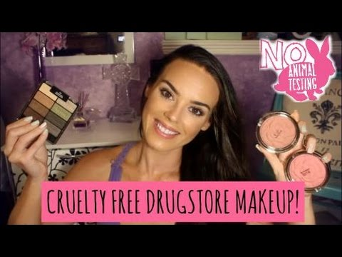 Cruelty free drugstore makeup
