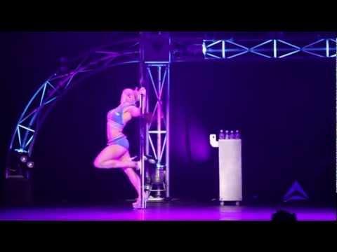 Miss Pole Dance Victoria 2012 2013 - Winner Kristy Sellars