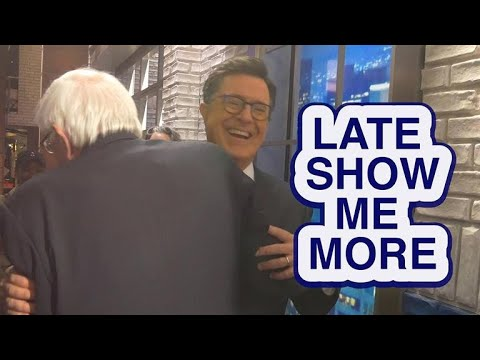 """Late Show Me More: """"Am I banned yet?"""""""