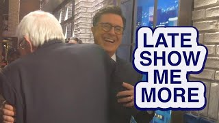 "Late Show Me More: ""Am I banned yet?"""