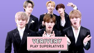 VERIVERY Reveal Who's The Biggest Kpop Fan, The Best Dancer And More! | Superlatives | Seventeen