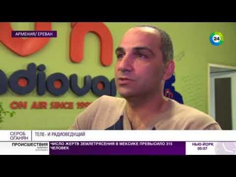 Юбилей «Мира»: как журналист из Армении стал ее представителем в эфире