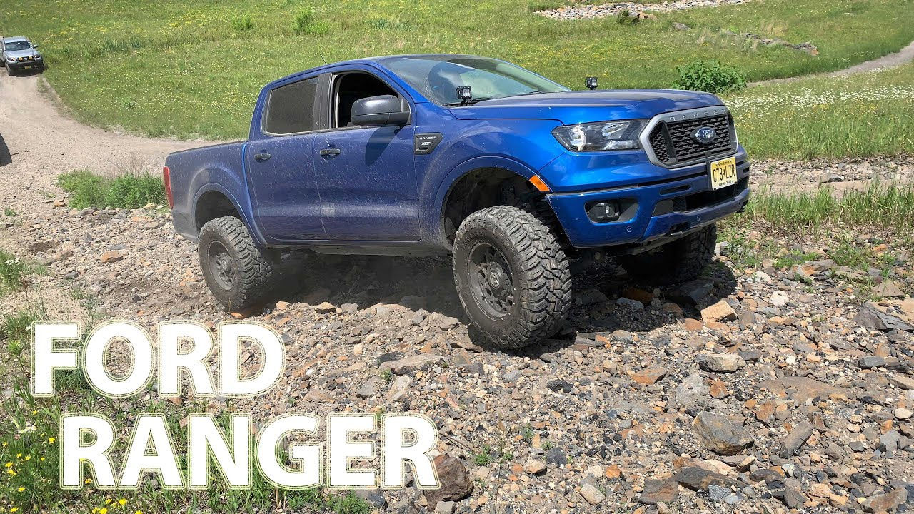 FORD RANGER OFF-ROAD 4X4 TRACTION CONTROL TEST : HILL CLIMBING ROLLING ROCK HILL!!!