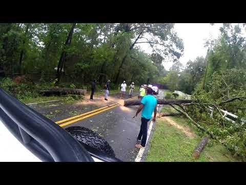 Irma aftermath in havana
