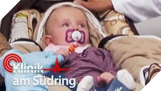 Besorgte Teenie-Mutter: Wieso ist Baby Amys Windel grün? | Klinik am Südring | SAT.1 TV