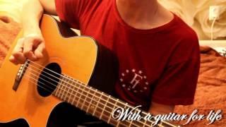 Учимся петь играя перебором. Пример - песня